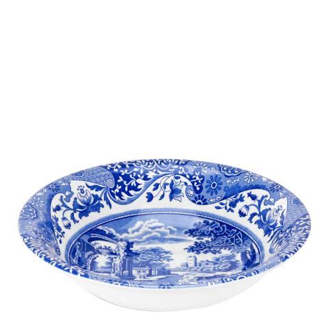 Spode Set of 4 Blue Italian Cereal Bowls