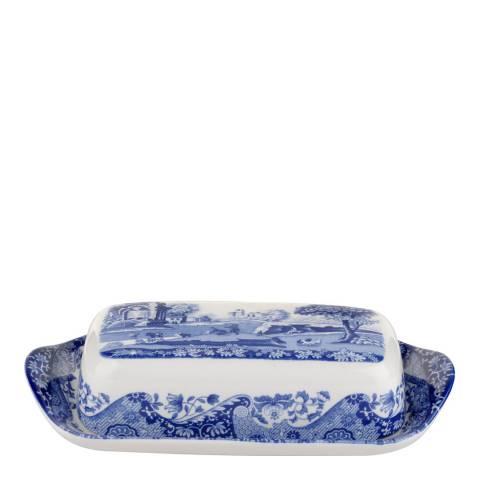 Spode Blue Italian Butter Dish