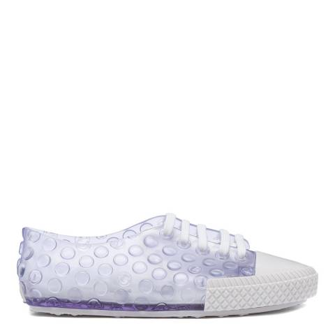 Melissa White Transparent Polibolha Sneakers