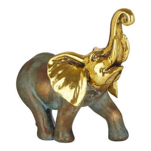 Premier Housewares Large Polystone Elephant Sculpture