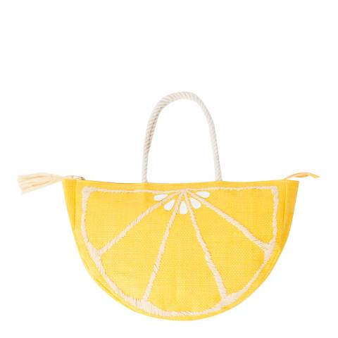 Pia Rossini Lemon Citrus Tote Bag