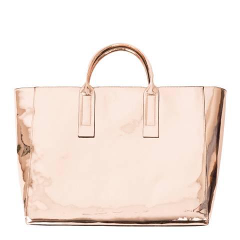 Pia Rossini Rose Gold Dorado Tote Bag