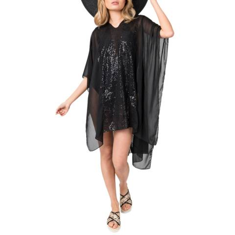 Pia Rossini Black Julz Cover Up