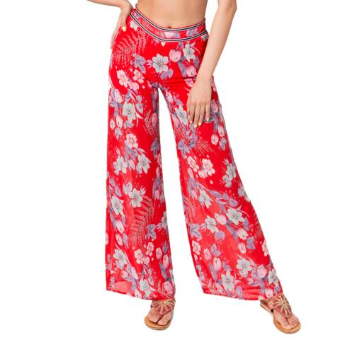 Pia Rossini Red Virginia Trousers