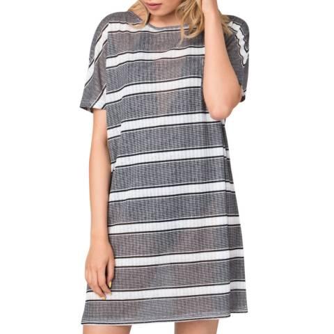 Pia Rossini Black White Bondi Dress