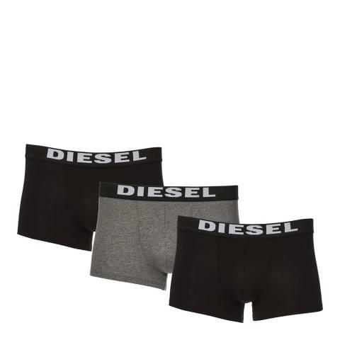 Diesel Grey Rocco 3 Pack Boxers