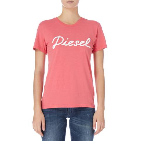 Diesel Pink Sully T-Shirt