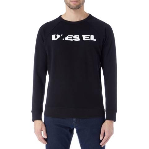 Diesel Black Orestes Sweatshirt