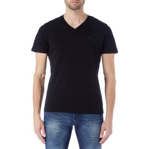 Diesel Black T-Therapo T-Shirt