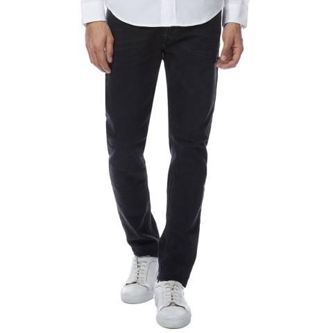 Diesel Black Tepphar Slim Stretch Jeans