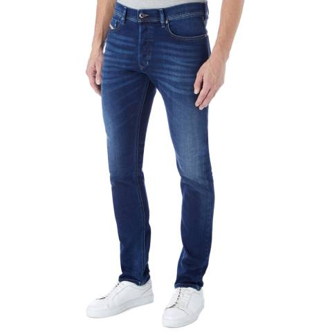 Diesel Blue Tepphar Slim Stretch Jeans