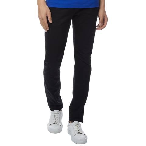 Diesel Black Troxer Slim Stretch Jeans
