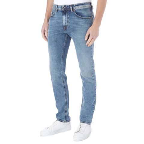 Diesel Washed Blue Thommer Stretch Jeans
