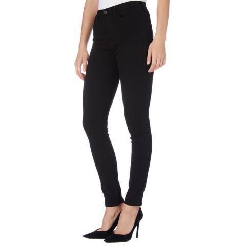 Diesel Black Skinzee Skinny Stretch Jeans