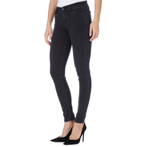 Diesel Black Slandy Skinny Stretch Jeans