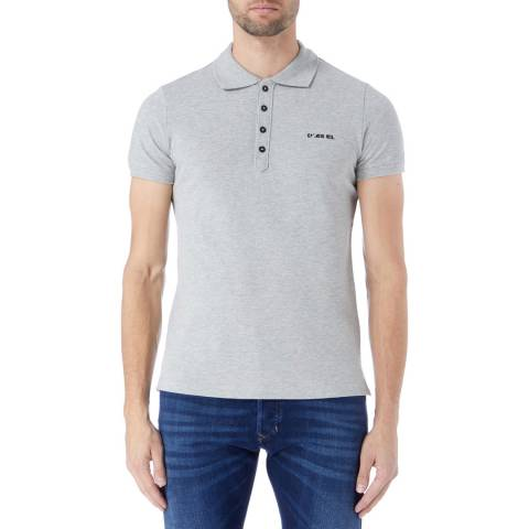 Diesel Grey T-Heal Polo Shirt
