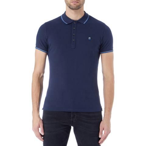 Diesel Blue T-Skin Polo Shirt