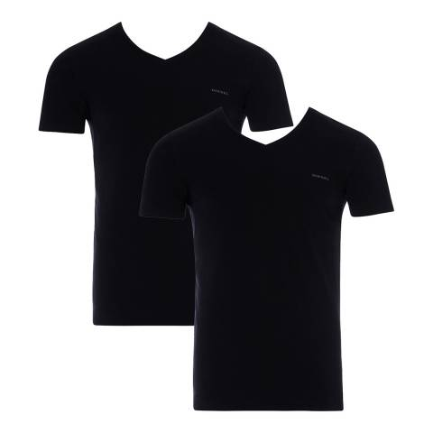 Diesel Black Michael Two Pack T-Shirt
