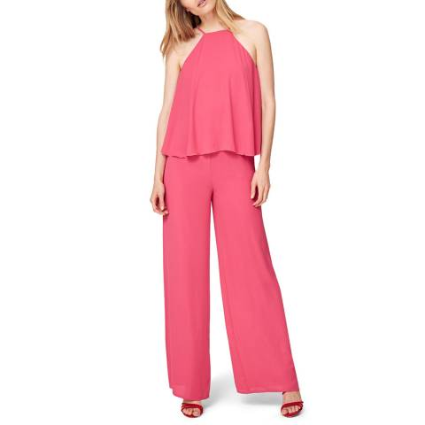 Damsel In A Dress Hot Pink Jessa Jumpsuit
