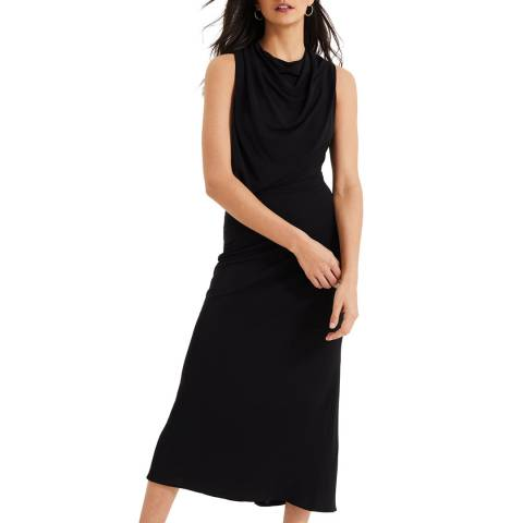 Damsel In A Dress Black Adaryn Cowl Maxi Dress