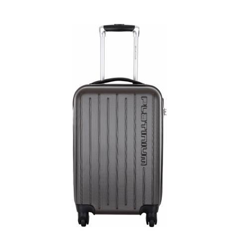 Platinium Grey 4 Wheel Tamworth Suitcase 60cm