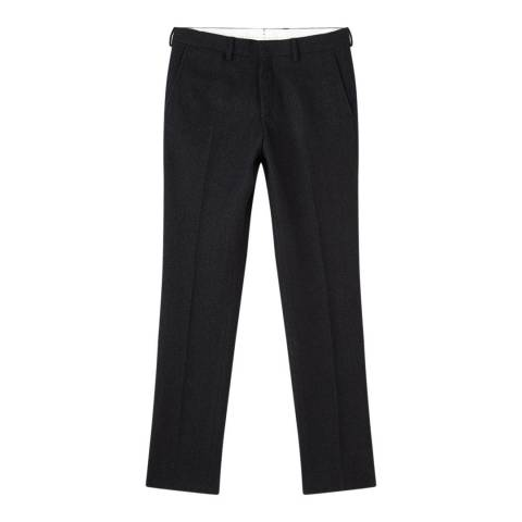 Jigsaw Dark Navy Wool Suit Trouser