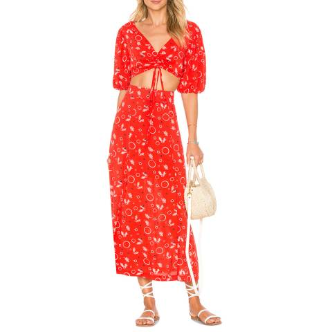 Free People Danni Jane Printed Set