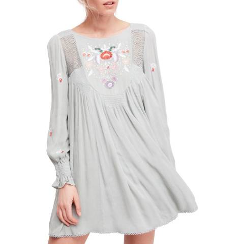 Free People Mint Mohave Mini Dress