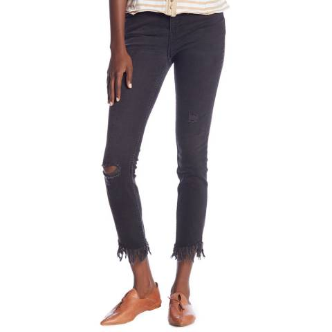 Free People Black Great Heights Jeans