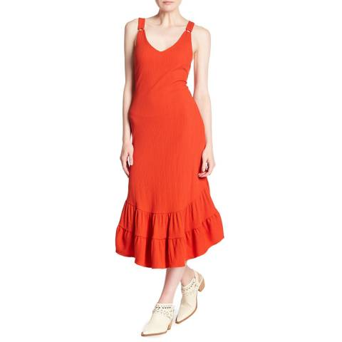 Free People Orange Into You Maxi Dress