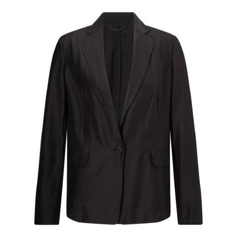 Jigsaw Black Feather Jacket