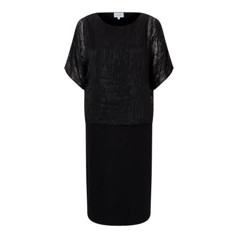 Jigsaw Black Overlay Dress