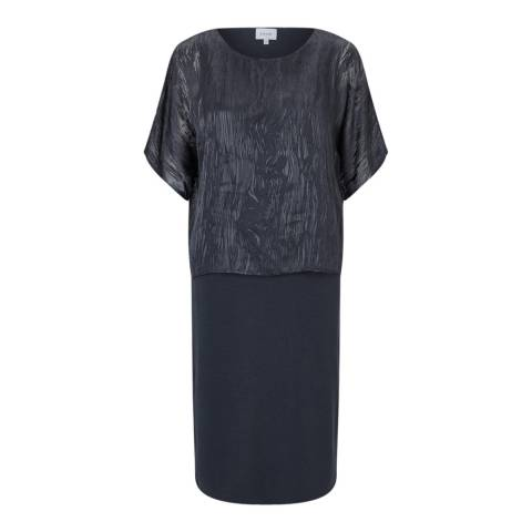 Jigsaw Grey Overlay Dress