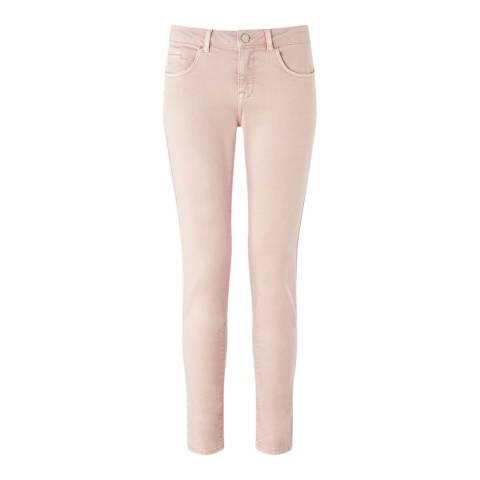 Jigsaw Pale Pink Skinny Stretch Jeans