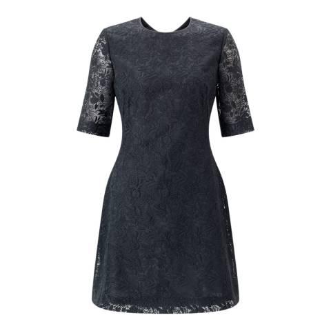 Jigsaw Grey Iris Lace Dress