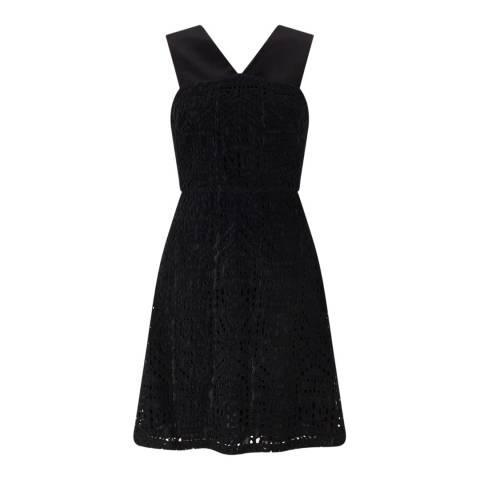 Jigsaw Black Lace Dress