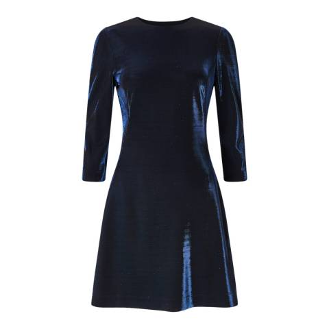 Jigsaw Navy Jersey Iris Dress