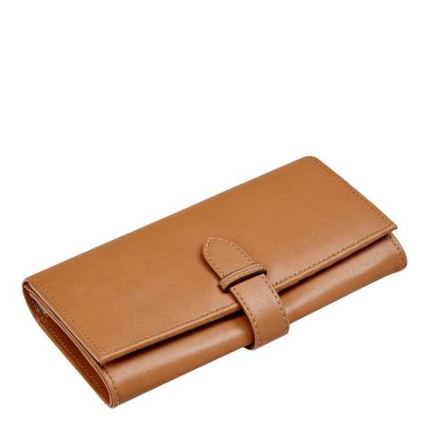 Aspinal of London Tan Smooth Leather Wallet