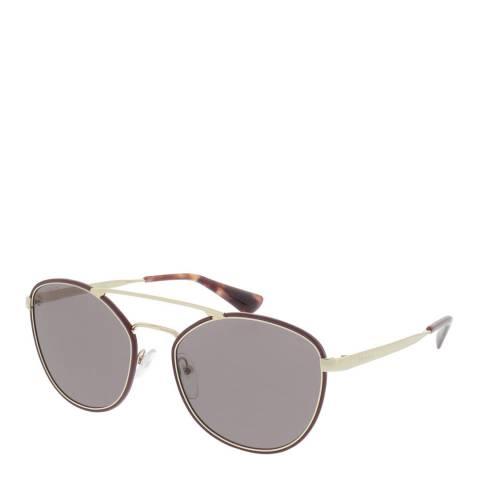 Prada Women's Burgundy Prada Cat Eye Sunglasses 55mm