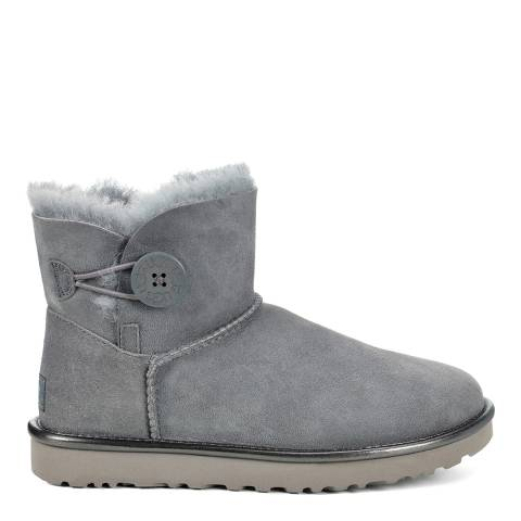 UGG Grey Seal Classic Mini Bailey Ankle Boot