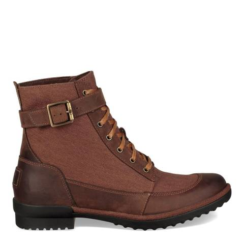 UGG Coconut Shell Tulane Lace Up Boot