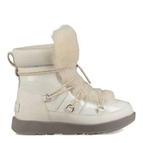 UGG White Highland Waterproof Classic Boot