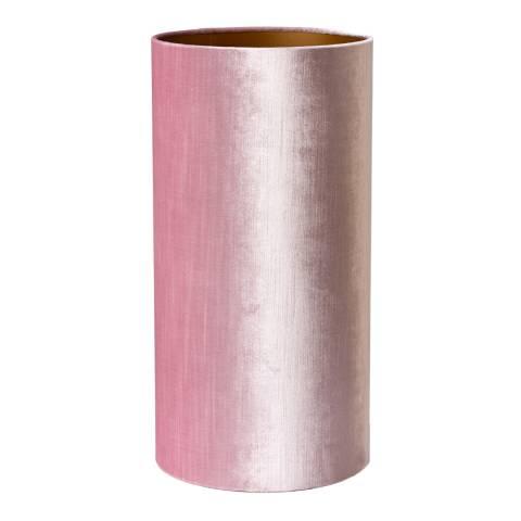Pols Potten Light Pink Velvet Lamp Shade 25x50cm