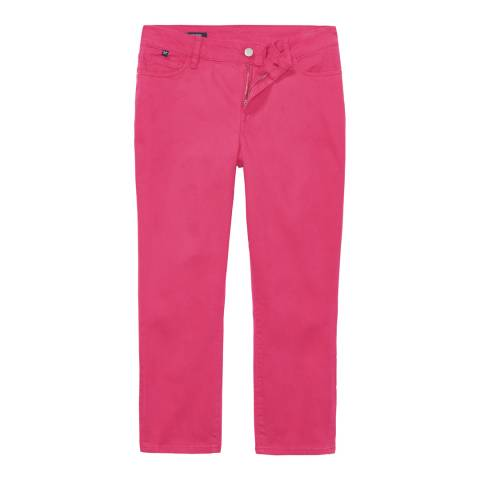 Crew Clothing Hot Pink Cropped Skinny Jean