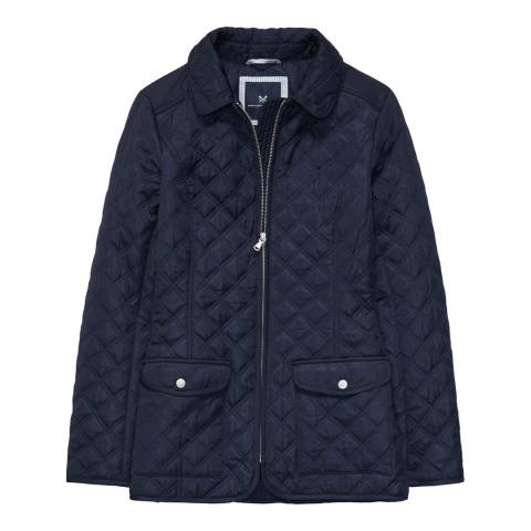 Crew Clothing Dark Navy Forres Quilted Jacket