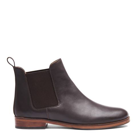 Crew Clothing Chocolate Chelsea Boot