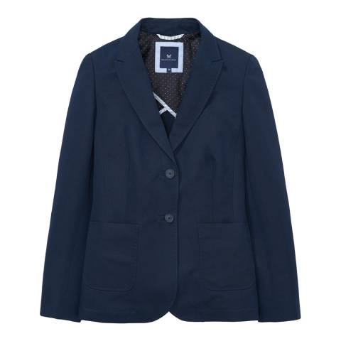 Crew Clothing Navy Lowes Water Blazer