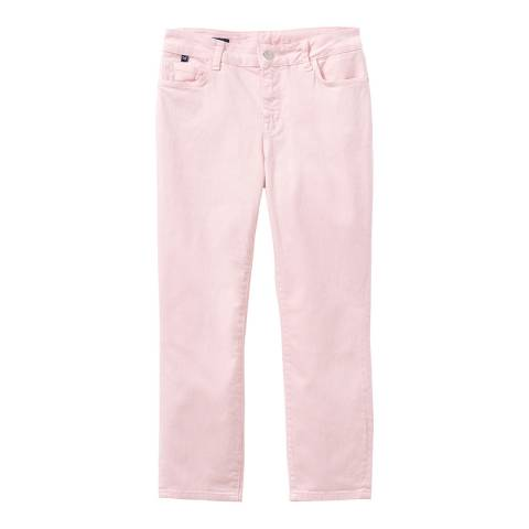 Crew Clothing Soft Pink Cropped Skinny Jean