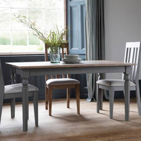 Gallery Cookham 4 Seater Dining Set, Grey