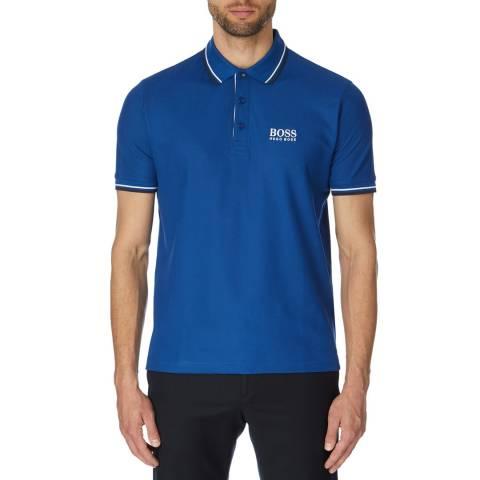 BOSS Blue Paddy Pro Cotton Polo Shirt